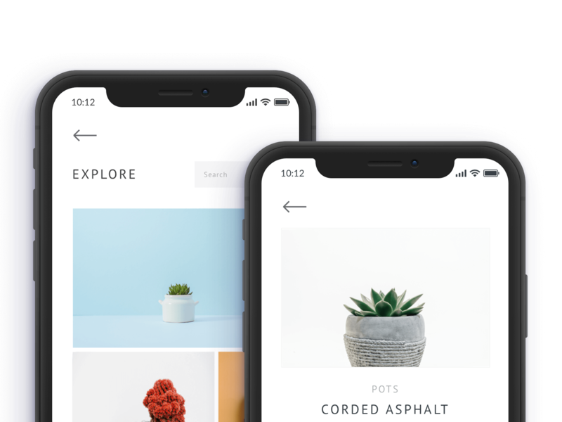 Succulent E-Commerce App