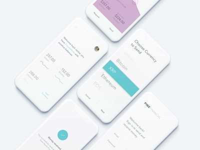 Multi-currency financial app