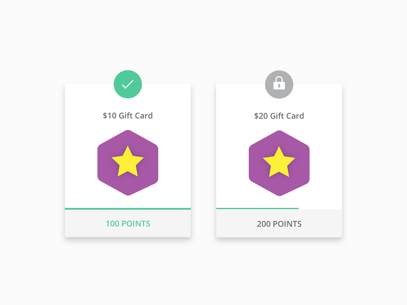 Offer your customers rewards for each purchase