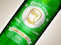 Golden owl beer etiquette