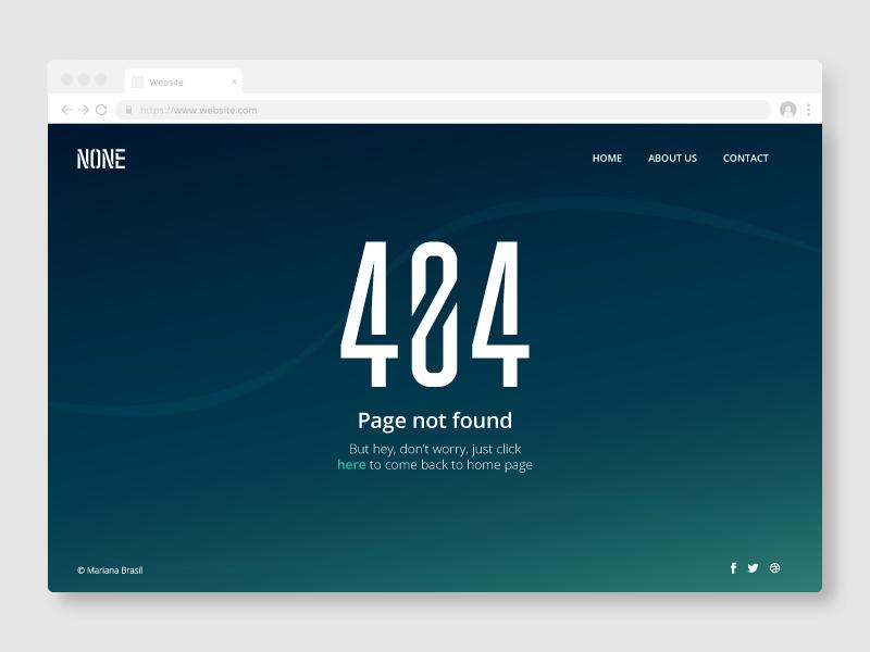 Daily UI Challenge #008 - 404 Page error day 8 ui ui  ux design design dailyui daily 100 daily 100 daily ui 404 error 404 page 404