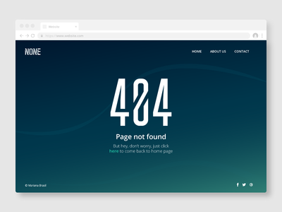 Daily UI Challenge #008 - 404 Page error day 8 ui ui  ux design design dailyui daily 100 daily 100 daily ui 404 error 404 page 404