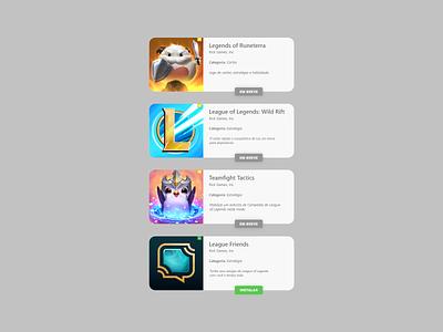 Apps Info Card playstore design ui  ux design ui user interface user app store appstore app card info card info