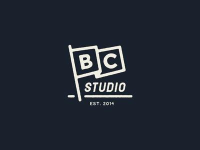 Bearded Creative Studio badge flag studio brand identity self branding texture logotype iconography branding illustration lettering badge typography
