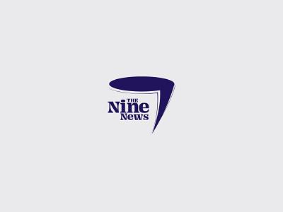 News Logo concept newspaper branding logo