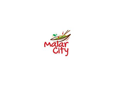 Malar City Logo branding logo