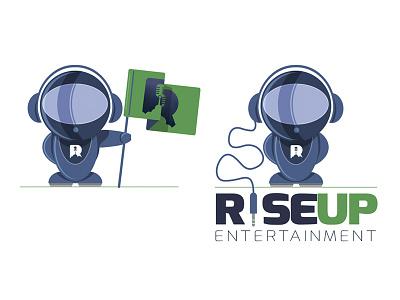 Rise Up again rocket music entertainment cloud