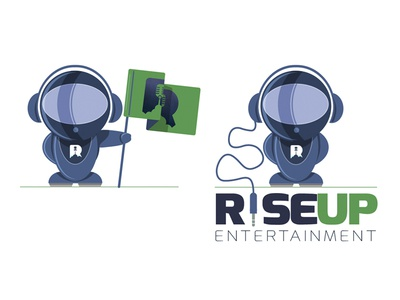 Rise Up again rocket music entertainment cloud