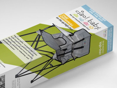 ciao baby Package Design chair box package