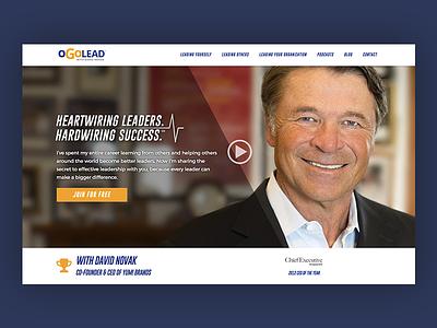 oGoLead cta hero leadership web