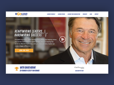 oGoLead cta hero leadership web