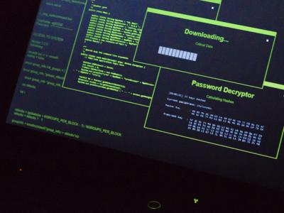 GeekTyper Detail design ui