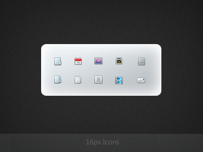 16px Icons 16px icons