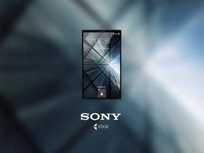 Sony Edge phone concept
