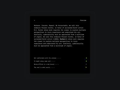 Ghostwriter anonymity publishing dark mode writting privacy anonymous