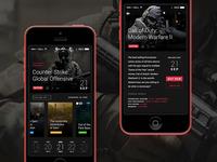 Game Calendar App Concept