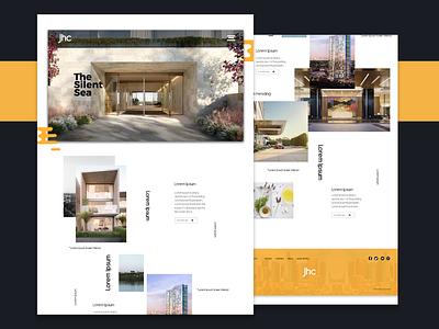 Real Estate adobe xd  photoshop  ui ux xd design adobe xd flat website minimal branding web ui design