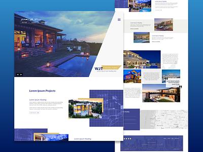 Real Estate2 artwork photoshop xddailychallenge xd ui kit xd design adobe xd ux minimal website branding web ui design