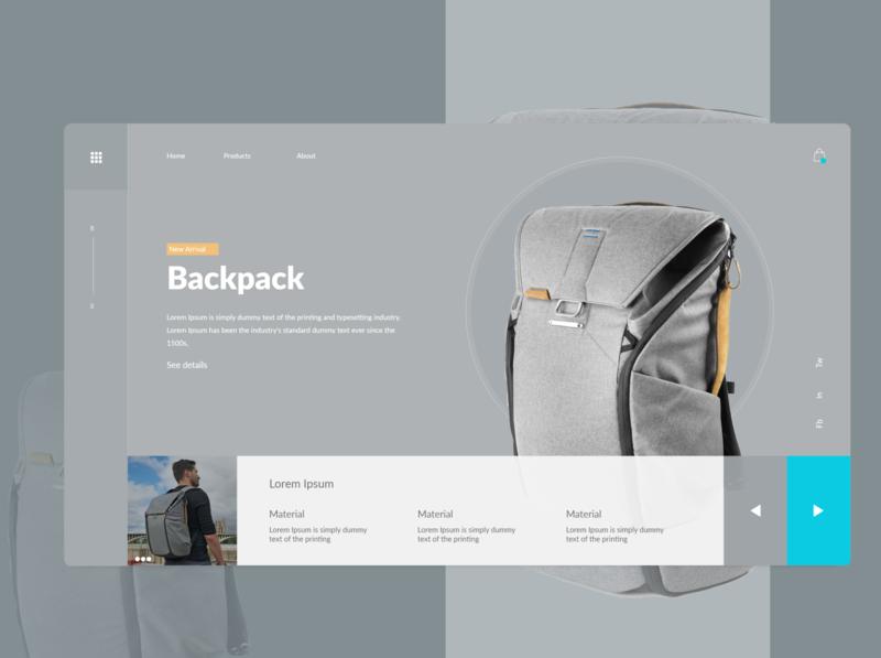 Backpack website