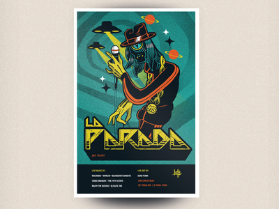 La Parada gig poster for July 2017