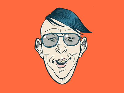 MM portrait cartoon caricature marilynmanson