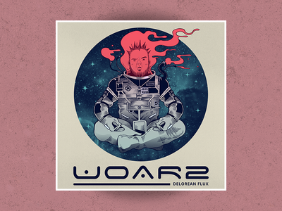 Woar 2 astronaut space albumcover