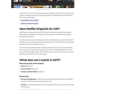 """Techtalk"" blog for Currys PC World - Desktop white technology red article ui website news blog"