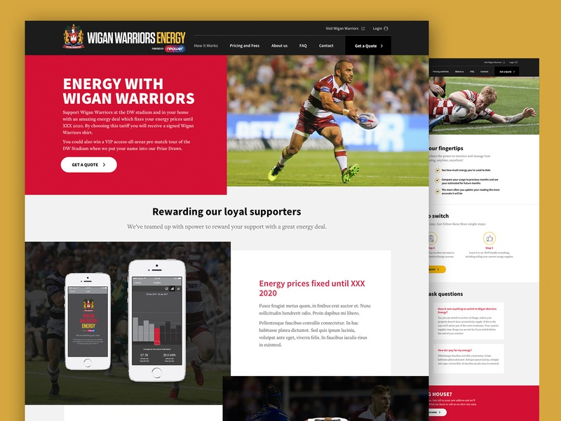 Website wigan