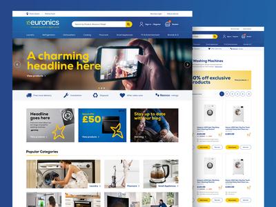 Euronics eCommerce website