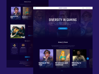 Diversity In Gaming