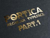 Portica™ Typeface