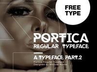 Portica typeface - Part.2