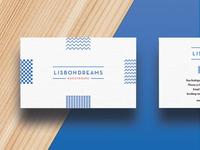 Business card Lisbon Dreams