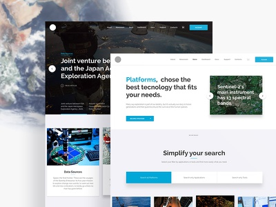 I see you from space webdesign interaction experience ux ui space explore