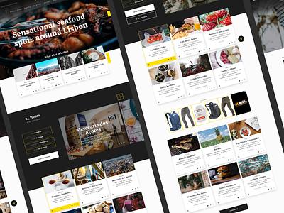 Convida Home page experience design tourism website ui interaction design uxui interface design convida home page homepage