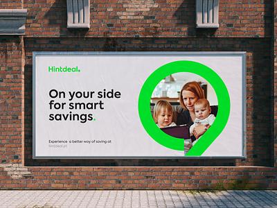 Hintdeal Billboard mark logodesigns hintdeal brand identity brand logo design logodesign logotype branding