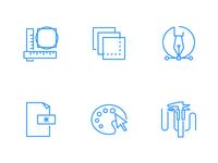 Icons properties