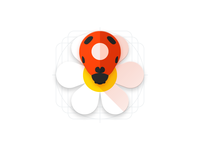 Ladybug-pin