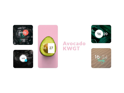 Avocado widgets ui theme home screen design customization android