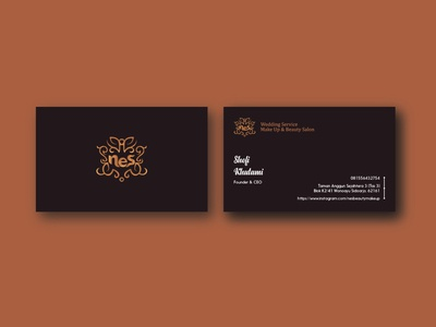 Business Card Nes Wedding Service