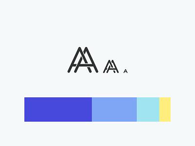 Identity Brush Up graphic profile identity color scheme logotype logo