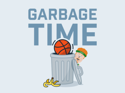 Garbage Time NBA Podcast Cover Art