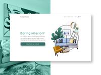 E-book landing page Interior Design