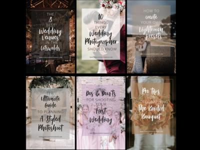 Wedding Photographer Pinterest Assets