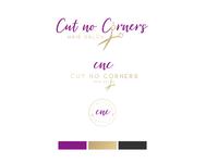 Cut Not Corners Hair Salon - branding
