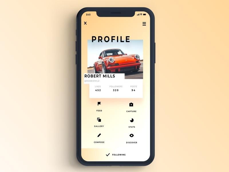Daily UI Challenge #6 user interface desiginspiration identity clean branding mobile minimal ios app vector ux designer ux ux design user experience uidesign ui flat design