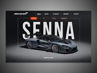 McLaren UI Redesign