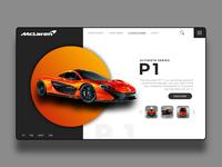 McLaren P1 UI