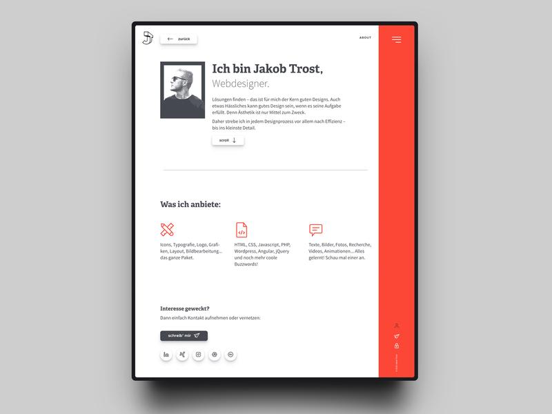 About Me     Portfolio Website