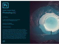 Adobe Photoshop CC 2017 Splash Screen
